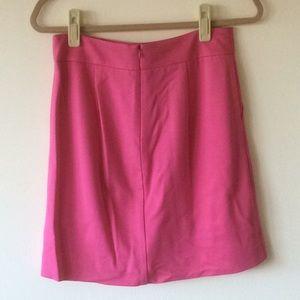Trina Turk Barbie pink A-line skirt